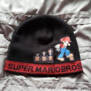 Boys Super Mario Brothers Knit Hat OSFM